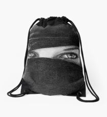 Your Eyes Drawstring Bag