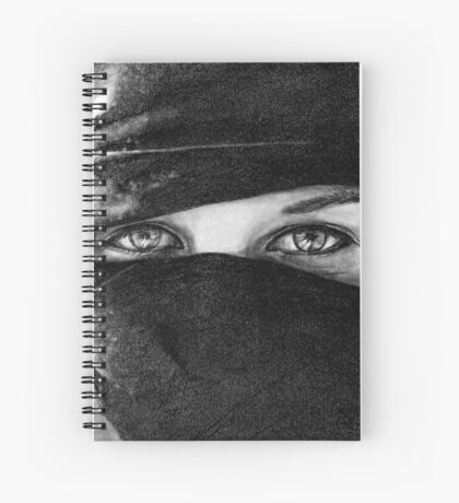 Your Eyes Spiral Notebook
