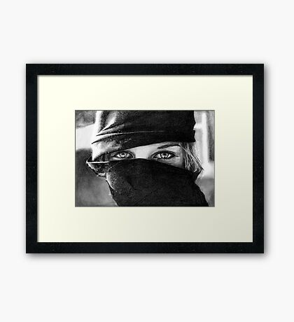 Your Eyes Framed Print