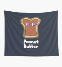 Peanut Butter and Jelly Couples Friend Shirt MATCHING SET  Wall Tapestry