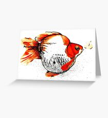 Bubble Fish Greeting Card