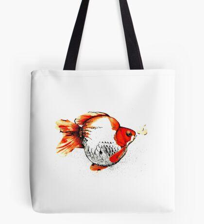 Bubble Fish Tote Bag