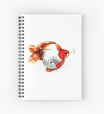 Bubble Fish Spiral Notebook