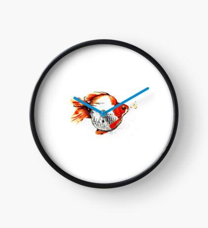 Bubble Fish Clock