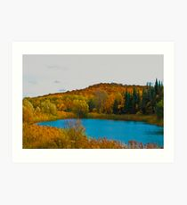 Fall Colour Tour #3 Art Print