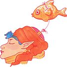 Fish Friend by tayloreynolds13