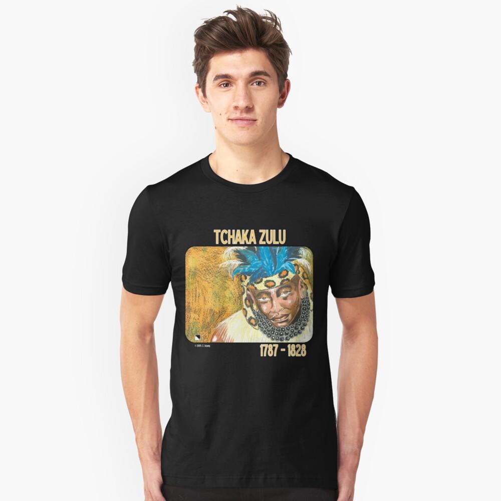 Tchaka Zulu Unisex T-Shirt Front