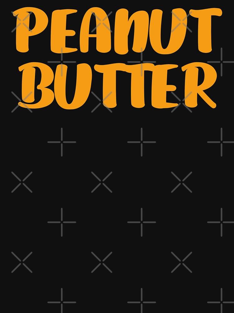 Peanut Butter T-Shirt Halloween Costume by trendo