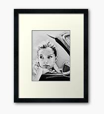 Natalie Portman fanart Framed Print