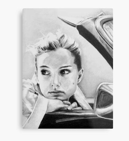 Natalie Portman fanart Metal Print