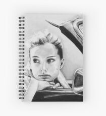 Natalie Portman fanart Spiral Notebook