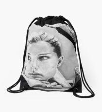 Natalie Portman fanart Drawstring Bag