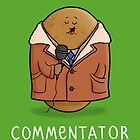Commentator by carlbatterbee