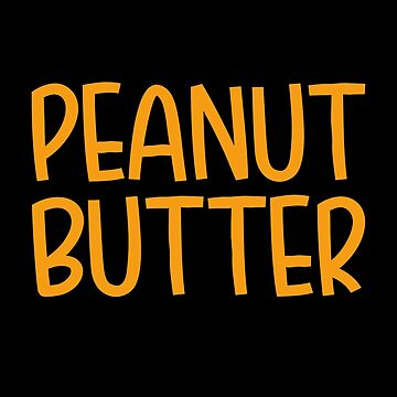 Peanut Butter T-Shirt Matching Halloween Costume by trendo