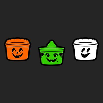 1990's Halloween Buckets  by robotghost