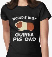 World's Best Guinea Pig Dad T-shirt col V femme