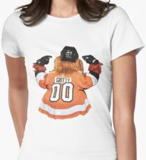 Gritty Nameplate Women's Fitted T-Shirt