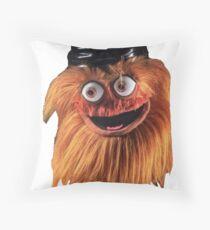 Gritty (Face) Throw Pillow