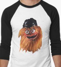 Gritty (Face) Men's Baseball ¾ T-Shirt