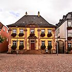 Flowery Houses of Miltenberg by Kay Brewer