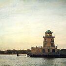 Beau Rivage Lighthouse along the Biloxi Beach by Jonicool