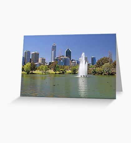 Perth - Western Australia  Greeting Card