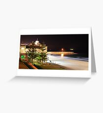 Indiana Tea Rooms by Night Greeting Card