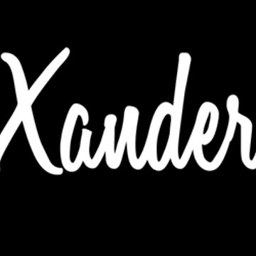 Hey Xander buy this now by namesonclothes