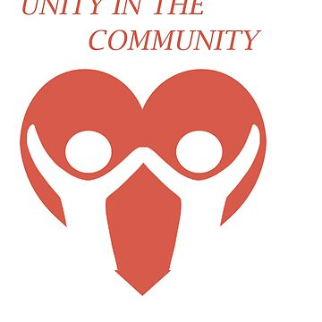 Cool & Awesome Unity Tshirt Design Unity in the Community by Customdesign200