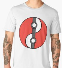 Poke-Yin-Yang (Red) Men's Premium T-Shirt