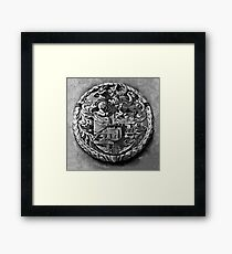 Antique Print of Genetti Coat-of-Arms Framed Print