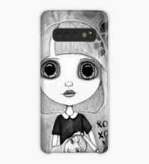 Number One Fan (Black & White Version) Case/Skin for Samsung Galaxy