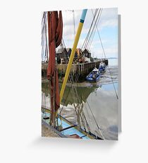 At the Harbour Greeting Card