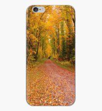 Yellow Walkway iPhone Case