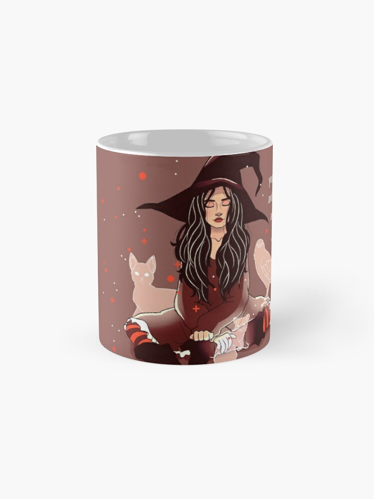 "Alternate view of ""Your Empathy and Kindness Are Their Own Forms of Magic"" Witch Mug"