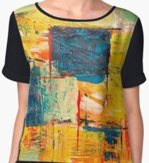 Wallpaper Abstract expressionism Chiffon Top