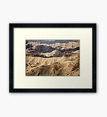 The Blues, Utah Framed Print