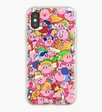 Kirby Muster iPhone-Hülle & Cover