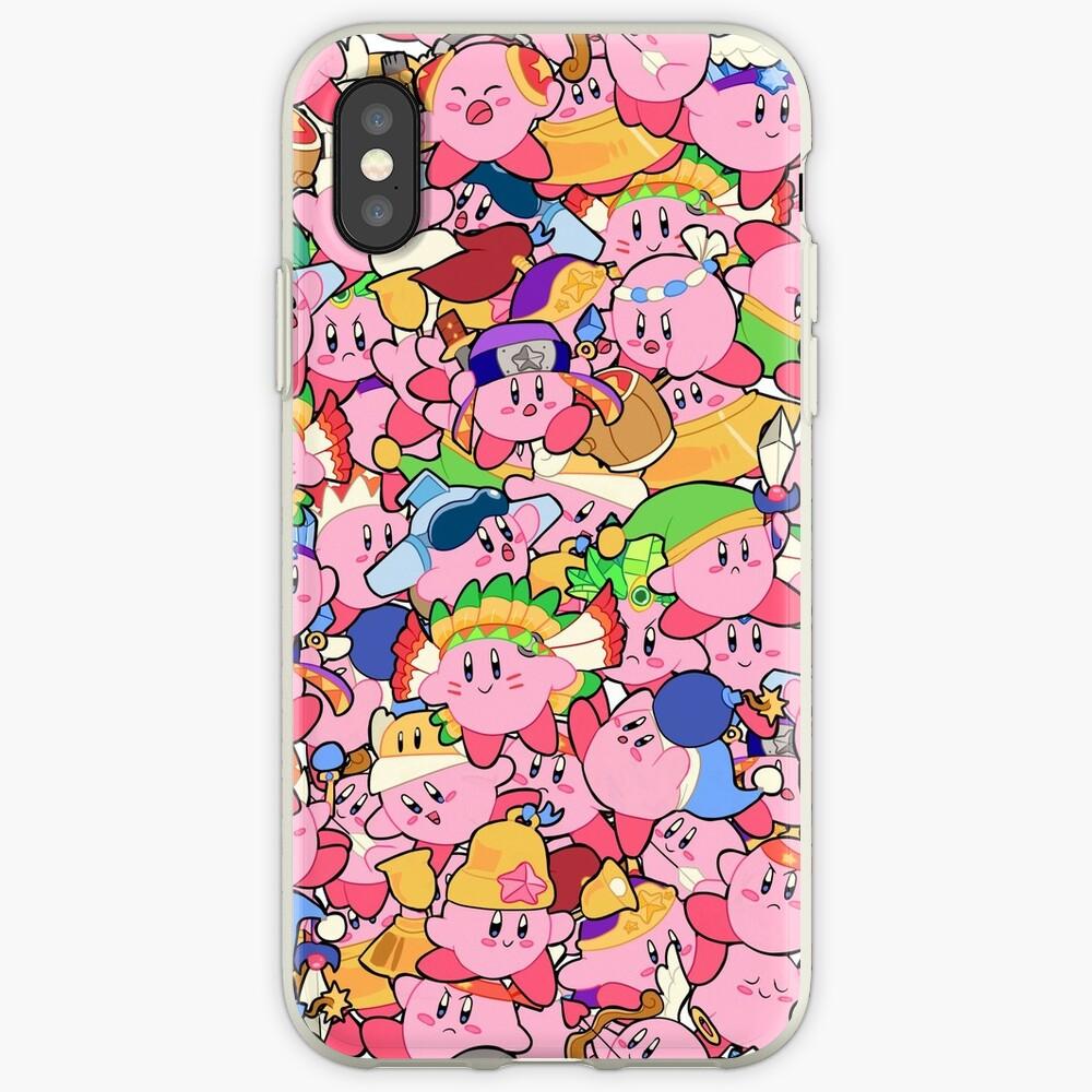 Patrones de Kirby Vinilos y fundas para iPhone