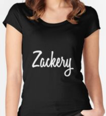 Hey Zackery buy this now Women's Fitted Scoop T-Shirt