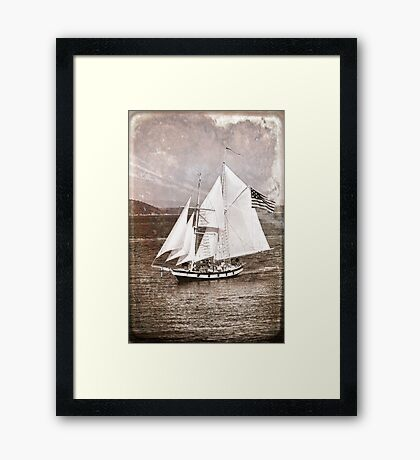 Amazing Grace Melainotype Framed Print