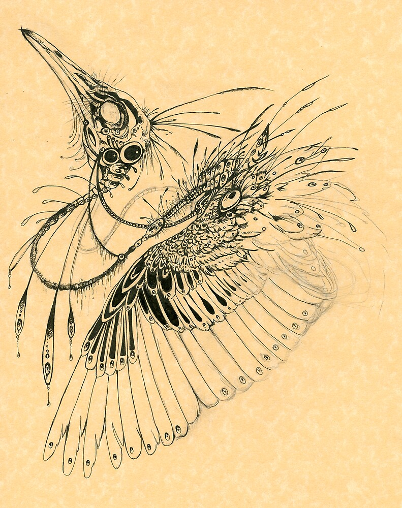 Biomechanical Bird by Caroline Muchmore