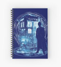 10 th time storm Spiral Notebook