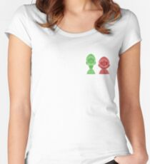 Mario and Luigi Women's Fitted Scoop T-Shirt
