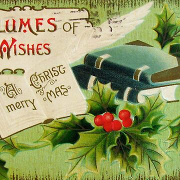 Volumes of Good Wishes for Christmas by collageDP