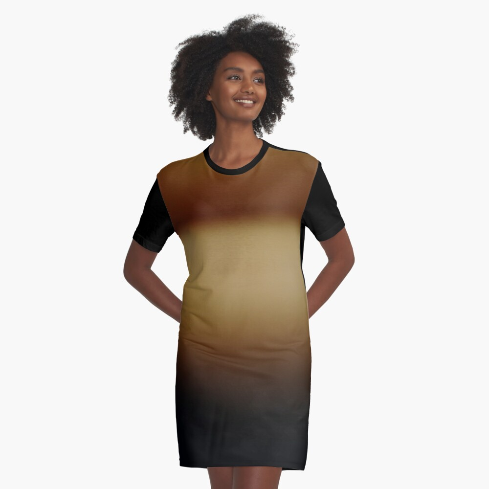 #abstract #light #orange #texture #wallpaper #design #yellow #color #illustration #blue #green #brown #backdrop #gold #bright #pattern #gradient #art #blur #backgrounds #sun #space #colorful #graphic Graphic T-Shirt Dress Front