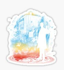 11th time storm-rainbow version Sticker