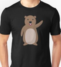 Awesome Funny Happy Groundhog Day (2) Unisex T-Shirt