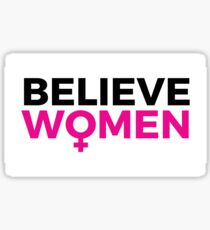 Pegatina Believe Women