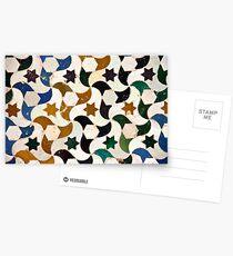 Alhambra azulejos Postcards